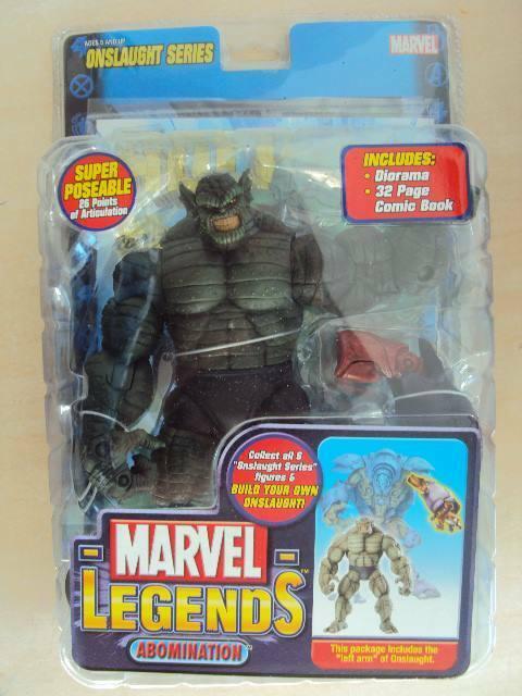 Marvel legends series 13 onslaught  abomination 2006 toy biz hulk