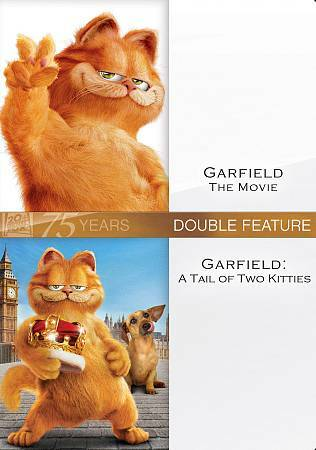 Garfield Double Feature Dvd 2010 2 Disc Set Fox 75th Anniversary For Sale Online Ebay