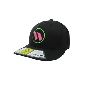 PTS30 All Black//Neon Green//Pink  LG//XL Worth Hat by Richardson