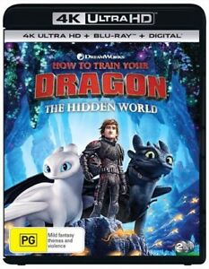 How To Train Your Dragon 3 - The Hidden World : NEW 4K UHD Blu-Ray
