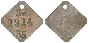 Deutsch-Südwestafrika Grabado Perro Swakopmund Nr.35 Extraordinariamente Raro (