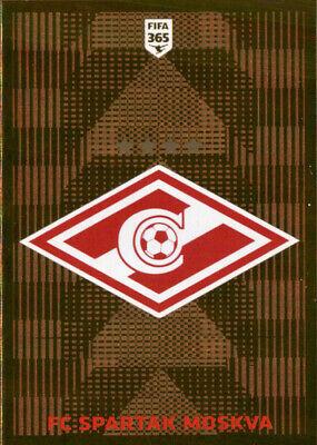 PANINI FIFA 365 2020 Sticker 298-FC SPARTAK MOSKVA Living Football