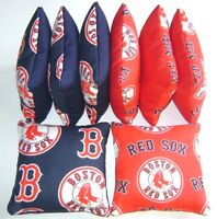 Boston Red Sox Cornhole Bean Bags Set Of 8 Top Quality Regulation Toss Game S