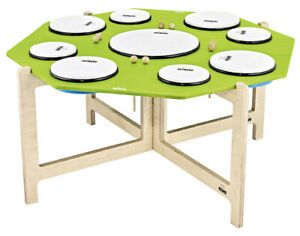 Meinl Nino 966 Percussion Hand Drum Set 9 pieces