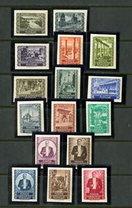 Turkey-Stamps-1059-74-VF-OG-NH-Scott-Value-90-00