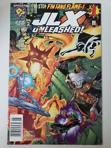 JLX-UNLEASHED-1-1997-MARVEL-DC-AMALGAM-COMICS-JIMENEZ-PRIEST-1ST-PRINT