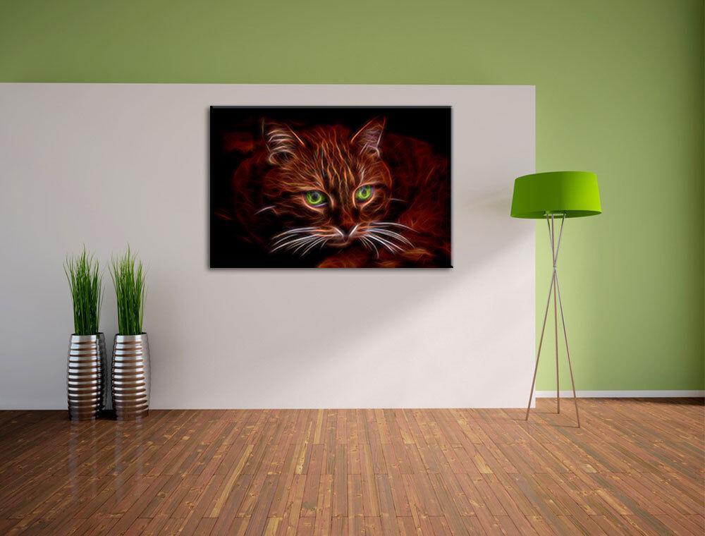 Bella Gatto Gatto Gatto Domestico Quadro su Tel Decorazione Parete ...