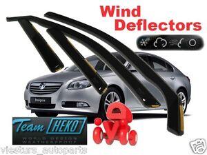 OPEL-INSIGNIA-5D-2009-HATCHBACK-Wind-deflectors-4-pc-HEKO-25380