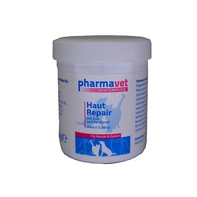 (29,50€/kg) Pharmavet Heimtierpflege 100g Haut Repair Mit Zink Hund U. Katze
