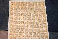 Korea Stamp- Full Sheet NH, 100 NEW! Liberation from Japanese rule 1946 3 chun