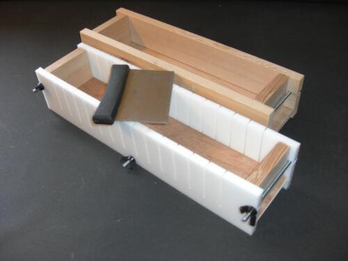 4-1 Lb Cold Process Loaf Mold Wood Adjustable SOAP MOLD Bar SLICER