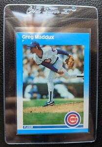 1987-FLEER-UPDATE-U-68-GREG-MADDUX-ROOKIE-CARD-RC-HOF-CUBS-BRAVES-SET-FRESH