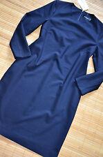 HALLHUBER wunderschönes Etuikleid Kleid Gr. 44 / UK 16 neu Marine Blau