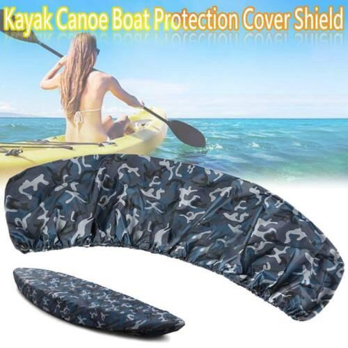 UK Y5D6 Universal Kayak Canoe Boat Waterproof UV Resistant Dust Storage Cover