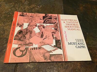 1980 Ford Mustang Mercury Capri Wiring Diagrams Electrical ...