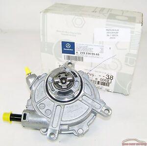 Mercedes benz engine vacuum pump germany original genuine for Mercedes benz genuine parts germany