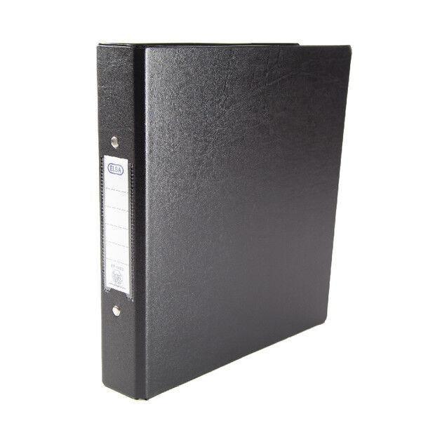 Elba A5 Black 25mm 2 O-Ring Binder (Pack of 10) 100082442