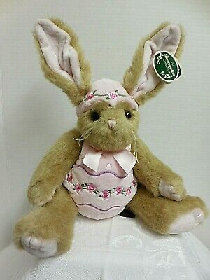 "Reasonable Bearington Easter/spring Izzy A Egg #420442 13"" Bunny Nwt F/s To Have A Unique National Style Bears"