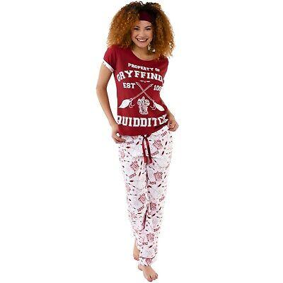 Womens Harry Potter PJsHarry Potter Quidditch PyjamasLadies Pyjama Set