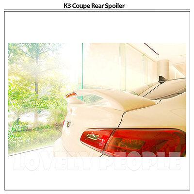 Rear Trunk Lip Wing Spoiler UNPAINTED Fits: KIA 09-11 Forte koup Cerato koup