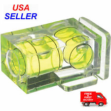Hot Shoe Two Axis Double Bubble Spirit Level Mount For Digital and Film Cameras