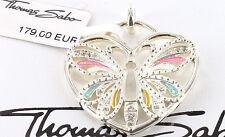 Thomas Sabo Anhänger Schmetterling PE442-041-7, 925/- Silber, UVP € 179 NEU