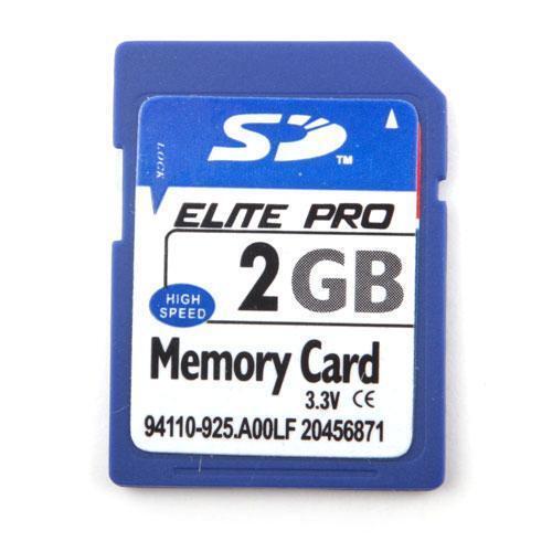 High Speed 2GB SD Secure Digital Memory Card 2G 2 GB Mini rt#06