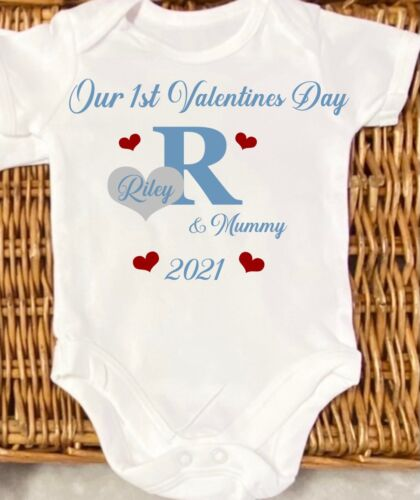 Mother's Day any occasion bodysuit Any Saying Any Name Valentine's Day