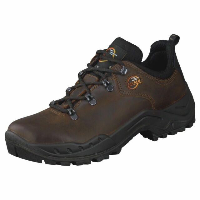 GRISPORT Bergamo Trekking Wandern Outdoor Schuhe hoch Echt Leder braun Gr. 41
