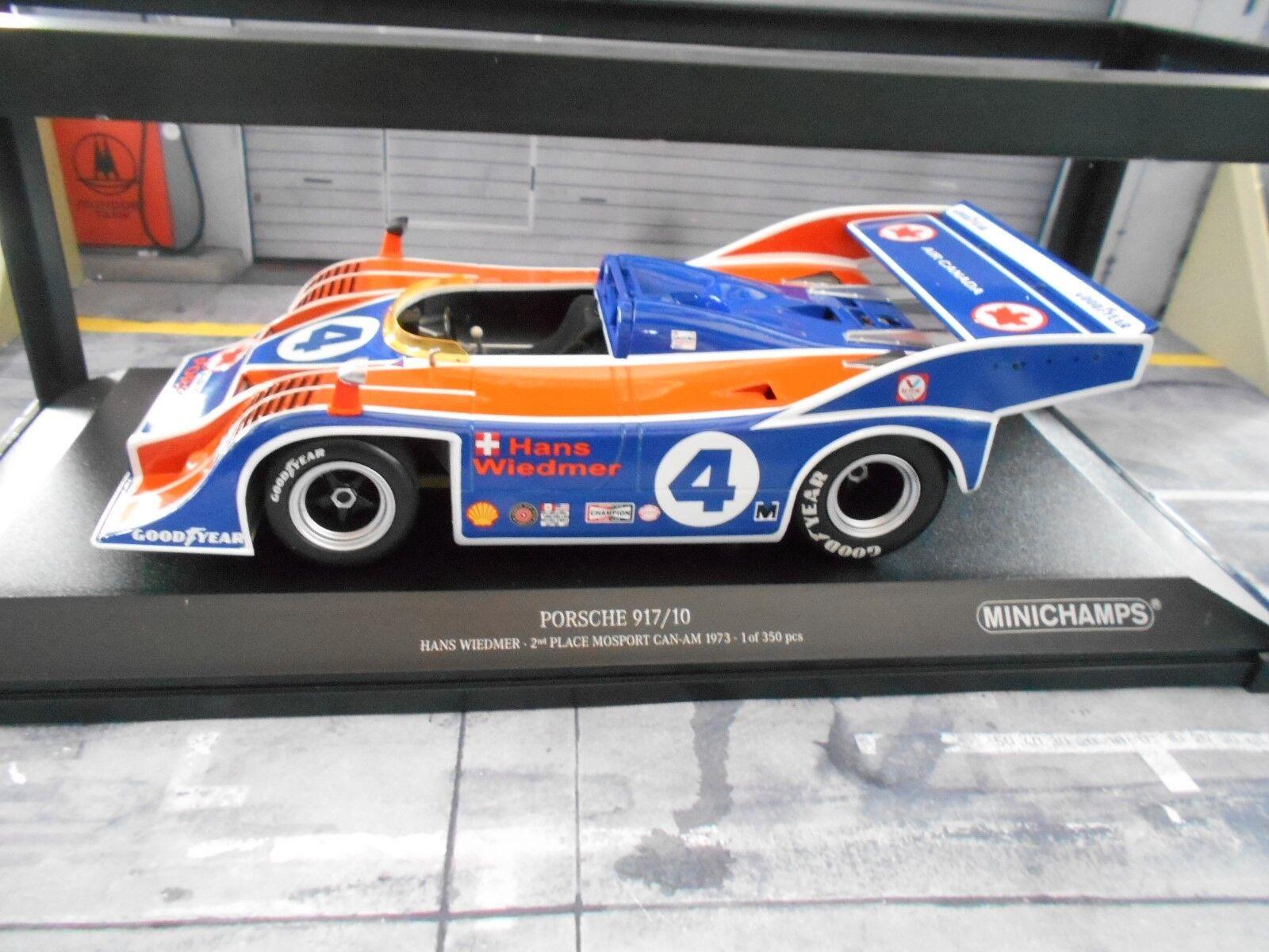 Porsche 917 917 10 spyder Can Am 1973  4 Wiedmer CANAM Air Can MINICHAMPS 1 18