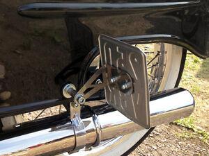 side mount number plate holder simson schwalbe kr51 1. Black Bedroom Furniture Sets. Home Design Ideas