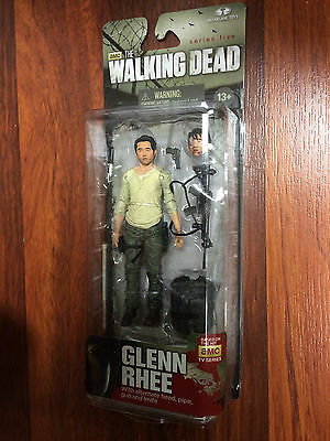 The Walking Dead Tv Series 5 Glenn Action Figures by McFarlane