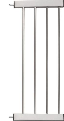 Verlängerung für Tür 28 cm 14 und Treppenschutzgitter AYANA grau silber 7
