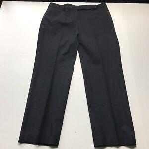 Talbots-Signature-Straight-Black-Wool-Dress-Pants-Size-12P-a465