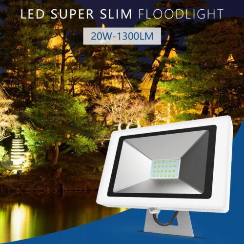 LED Fluter 20W Kaltweiß LED Flutlicht Außen Strahler Scheinwerfer Outdoor IP65
