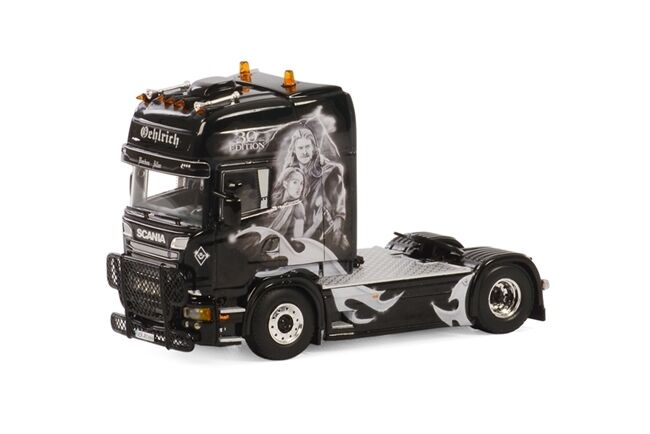 WSI COLLECTIBLES SCANIA R STREAMLINE TOPLINE 4X2 CAB UNIT OEHLRICH 01-1682