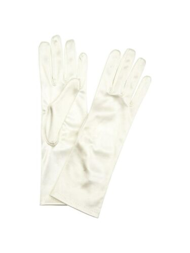 Cream One Size New With Defect Free P/&P John Lewis Satin Evening Gloves