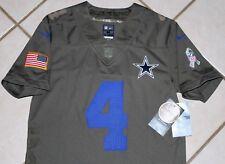 item 3 NEW NIKE Dallas Cowboys DAK PRESCOTT SALUTE TO SERVICE YOUTH M L  Jersey Boys -NEW NIKE Dallas Cowboys DAK PRESCOTT SALUTE TO SERVICE YOUTH M  L Jersey ... e5e618a8a