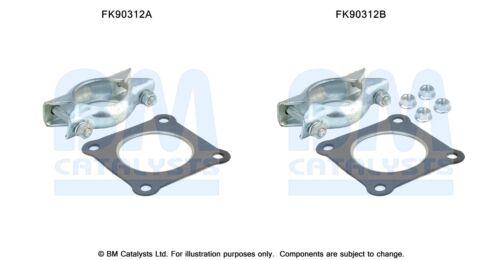 FITTIING KIT FK90312B FOR CATALYTIC CONVERTER TYPE APPROVED  BM90312H