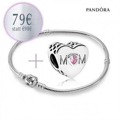 Sporting Pandora Starterset - Armband Und Mama Charm 791881pcz Aus 925er Sterlingsilber