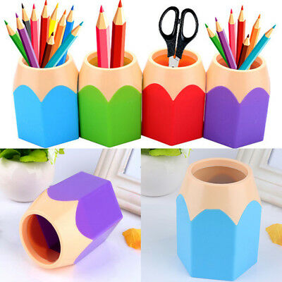 LK _SILICONE_ BA _ Creative Maquillage Pinceaux Support Stylo VASE CRAYON POT