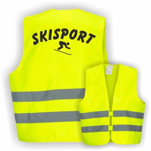 Gilet ski skifreizeit ski moniteur de ski skigruppe longs alpin