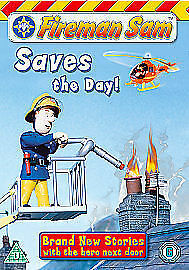 Fireman Sam Saves The Day! DVD Brand New and Sealed