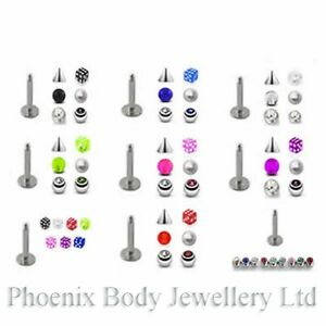 Labret-Monroe-Tragus-Bar-16g-1-2mm-Bonus-Pack-Choose-Pack-amp-Size