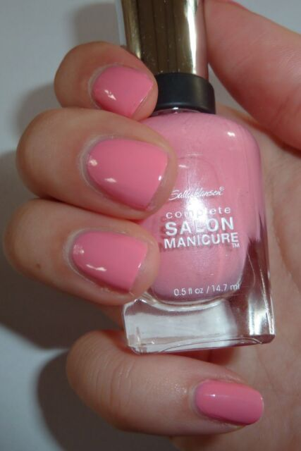 Sally Hansen Complete Salon Manicure Nail Polish # 510 I Pink I Can ...