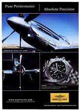 2007 Breitling Blackbird watch photo vintage print ad