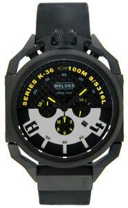 Welder-Par-U-Boat-K36-Chronographe-Placage-Ionique-Bracelet-Caoutchouc-K36-2402