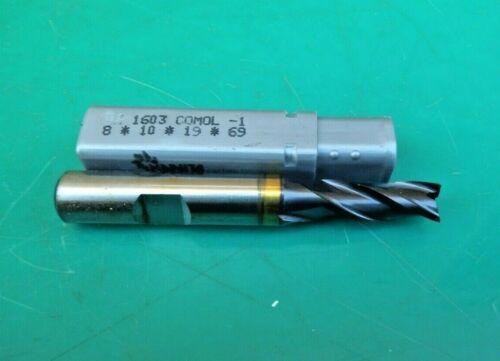 ENGINEERS 8MM HSS-E TICN COATED 3 FLUTE CUTTER CW1603 HANITA