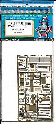 Eduard M3 Stuart Miele Incisione Fotografica Dettagli 1/35 502 Per Accademia Kit
