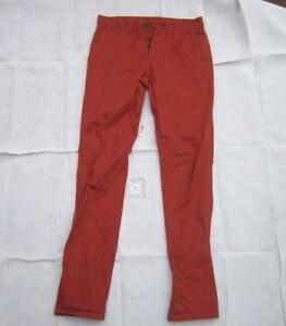 L32 30 W Anti Red da uomo Co Denim Fit Rusty Jeans wqHvTv